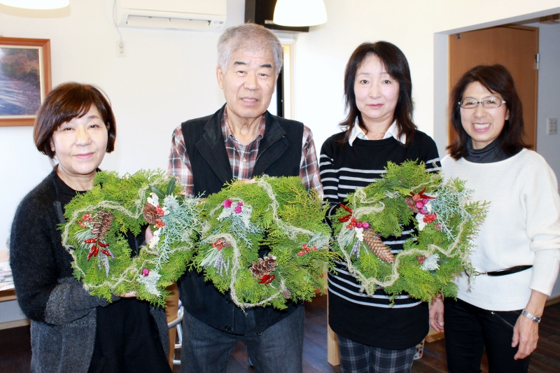 クリスマスリース講習会 ※終了※