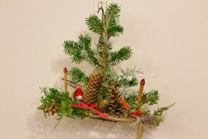クリスマスツリー型クラフト講習会 ※終了